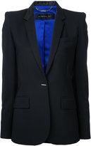 Barbara Bui flap pockets fitted blazer - women - Wool/Spandex/Elastane - 34