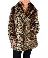 Excelled Leather Excelled Faux-Fur Short Jacket - Plus