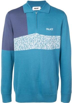 Palace Half Zipped Sweater