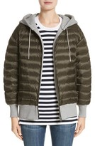 Burberry Women's Langleigh Reversible Down Hooded Bomber Jacket