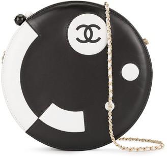 Chanel Pre Owned 2003-2004 CC round shoulder bag
