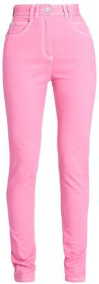 Balmain High-Waist Skinny Jeans