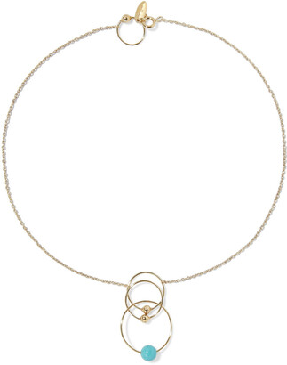 Zimmermann Gold-plated Bead Necklace