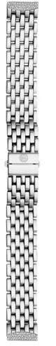 Michele 16mm Urban Mini Diamond Bracelet, Steel