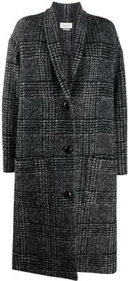 Etoile Isabel Marant Checked Car Coat