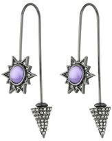 Rebecca Minkoff Rock Hardwire Threader Earrings