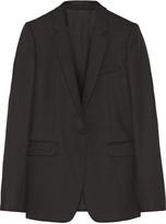 Helmut Lang Wool-piqué blazer