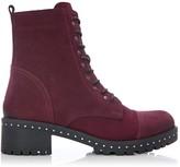 Moda In Pelle Alian Burgundy Leather