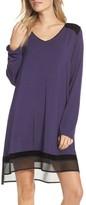 DKNY Women's Stripe Jersey Sleep Shirt