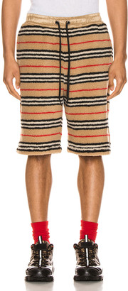 Burberry Holwell Shorts in Archive Beige   FWRD