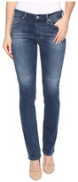 AG Adriano Goldschmied Harper Mid-Rise Straight Leg in 5 Years Retrograde Women's Jeans