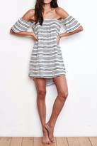 Spiritual Gangster Pin Stripe Dress
