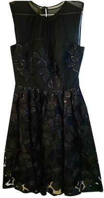 Dice Kayek Black Cotton Dress for Women