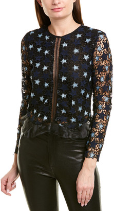 Karina Grimaldi Flamand Lace Top