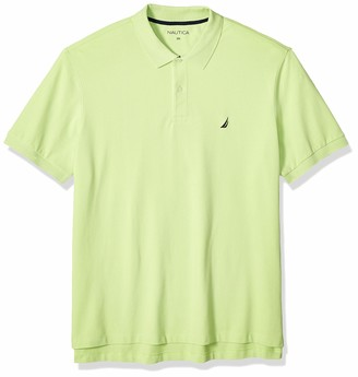Nautica Men's Tall Short Sleeve Solid Deck Polo Shirt