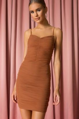 superdown Gwen Mesh Mini Dress