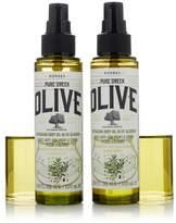 Korres Olive Oil & Blossom Body Oil Duo