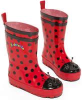 Kidorable Girls' Ladybug Rain Boots
