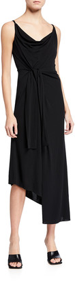 Diane von Furstenberg Amy Asymmetric Wrap Dress