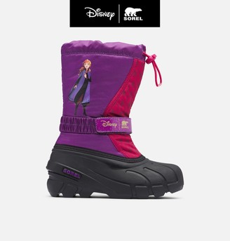 Sorel Disney X Youth Flurry Frozen 2 Boot Anna Edition