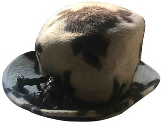 Philip Treacy Beige Wool Hats