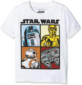 Star Wars Boy's Droids And Ships Sleeveless T-Shirt