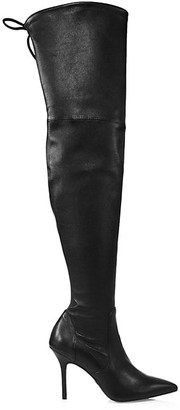 Stuart Weitzman Carine Over-The-Knee Leather Boots