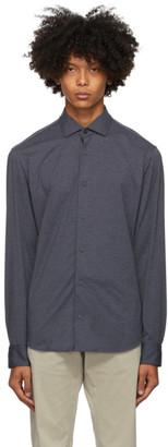 Ermenegildo Zegna Grey Jersey Shirt