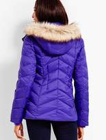 Talbots Short Puffer Jacket