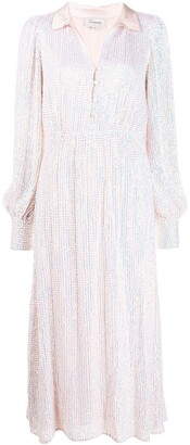 Temperley London Sequinned Shirt Dress