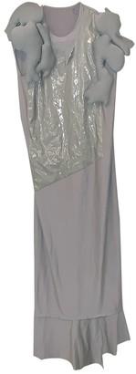 Comme des Garcons Grey Polyester Dresses