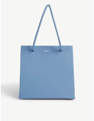 Medea Ice leather tote bag