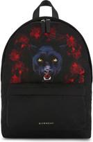 Givenchy Jaguar-print small nylon backpack