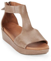 Gentle Souls Jefferson Platform Leather Sandals