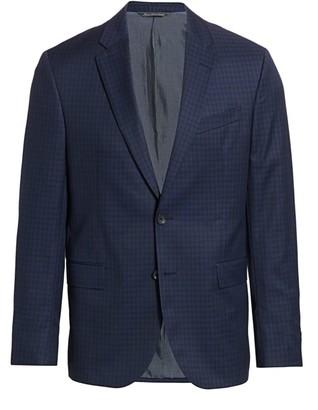 Saks Fifth Avenue MODERN Subtle Check Suit Jacket