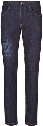 Fendi Faded FF Jeans