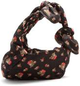 Simone Rocha Bow-tied floral fil coupé tote