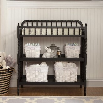 DaVinci Jenny Lind Changing Table with Pad Color: Ebony Black