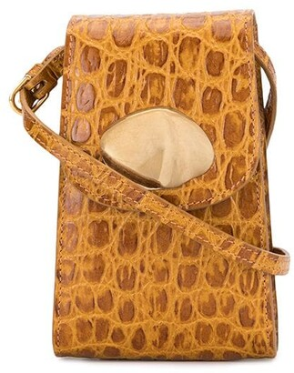 Little Liffner Animal Embossed Crossbody Mini Bag
