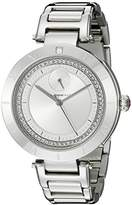 Vestal Women's RSE3M001 The Rose Stainless Steel Watch with Crystal Accents