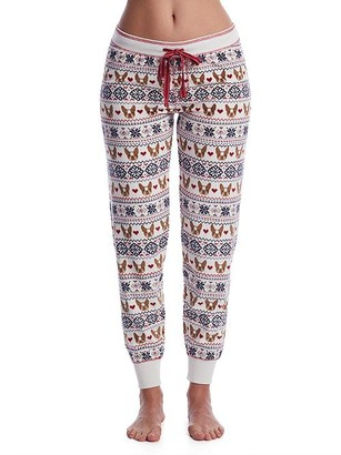 PJ Salvage Dog Momma Velour Joggers