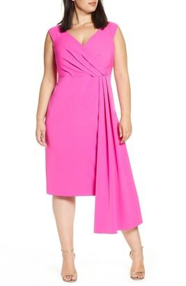 Brinker & Eliza Side Drape Dress