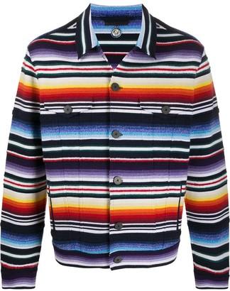 Alanui Sarape striped jacket