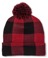 Mossimo Men's Buffalo Check with Pom Red/Black One Size
