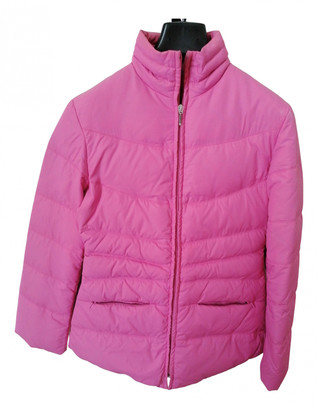 Stefanel Pink Synthetic Jackets
