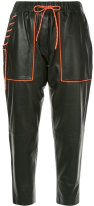 Mira Mikati Contrast Trim Trousers