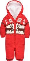 ZOEREA Newborn Baby Romper Long Sleeve Christmas Sweater Deer Outfit 0-18M