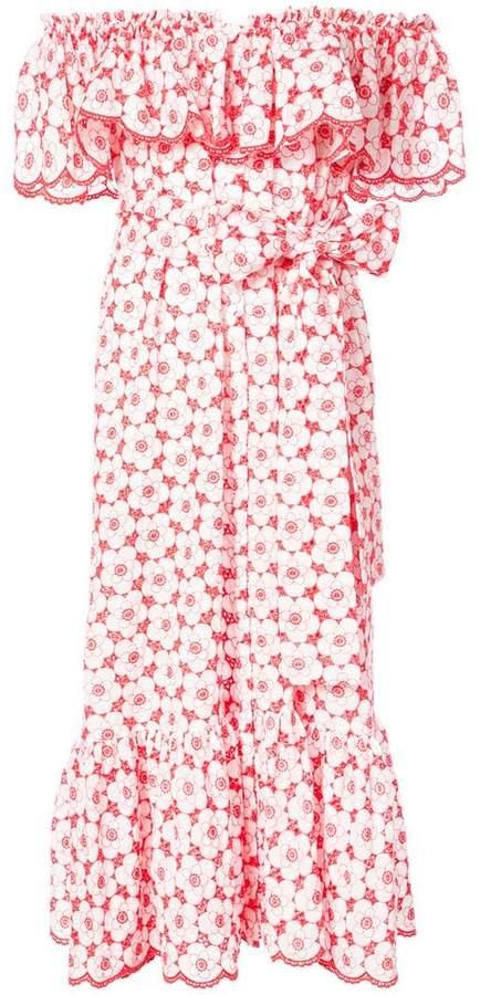 Lisa Marie Fernandez tie waist midi dress