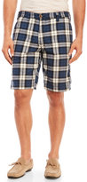 Tailor Vintage Reversible Plaid & Solid Madras Shorts