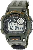 Casio Men's 'Super Illuminator' Quartz Casual Watch (Model: W735HB-3AV)